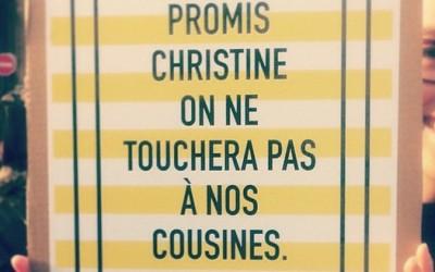 Stop à la cousinophobie